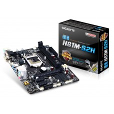 PLACA BASE GIGABYTE GA-H81M-S2H INTEL SK1150