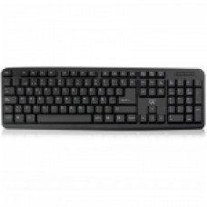EWENT TECLADO MULTIMEDIA USB/PS2 NEGRO EW3109