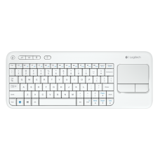 LOGITECH WIRELESS TOUCH KEYBOARD K400 BLANCO
