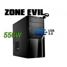 TORRE ZONE EVIL 52022 MATX USB3.0 C/FUENTE ALIMENTACIÓN 500W